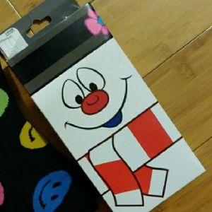 Snowman 3 pack crew socks